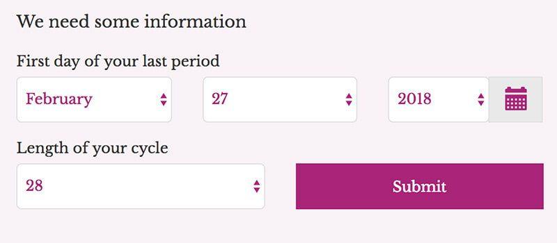 Cách tính ngày rụng trứng chính xác để thụ thai từ phần mềm