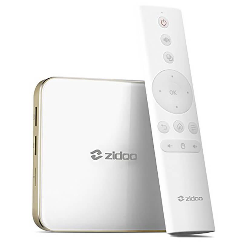 Zidoo Android 7.0 TV Box Dual Band WIFI H6 Pro Media Player Quad-Core 4K