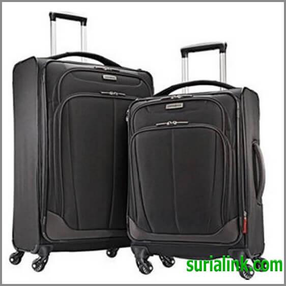 ValiSamsonite 2 Piece Luggage suitcase Set 27″và 21″carry-on Spinner 4 Wheel