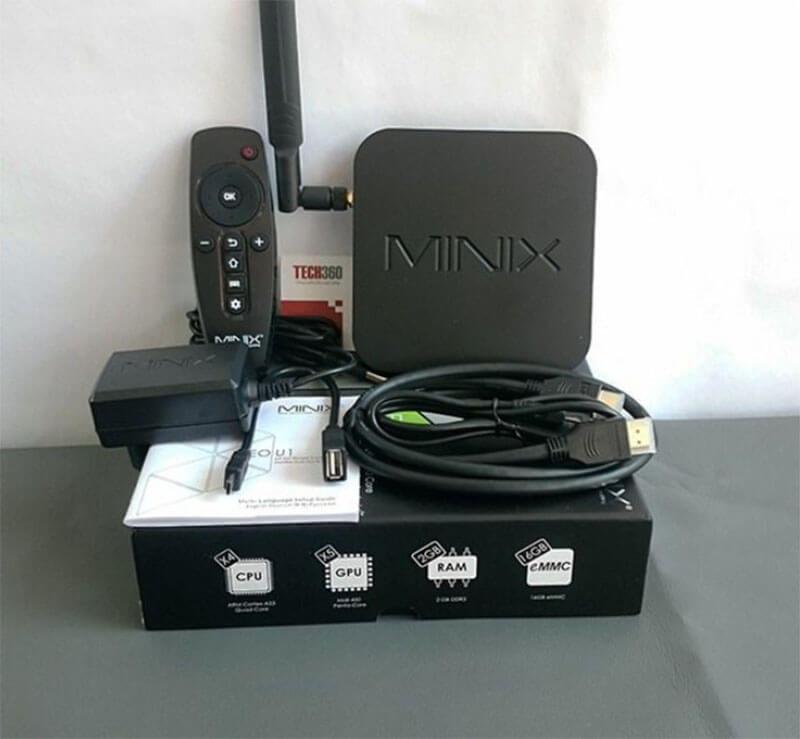 Hãng 3: Minix