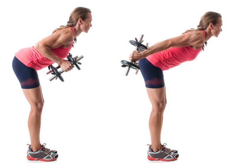Triceps kickbacks