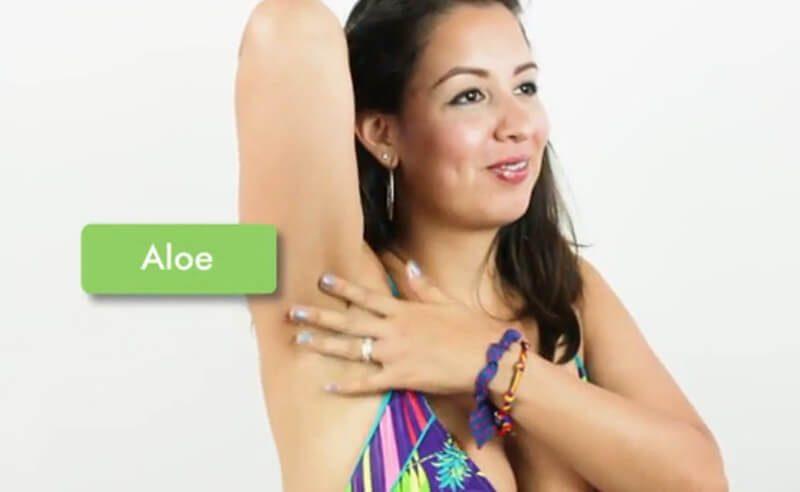 Sử dụng lô hội hoặc hazel để làm dịu làn da của bạn