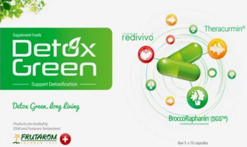 Thành phần có trong Detox Green
