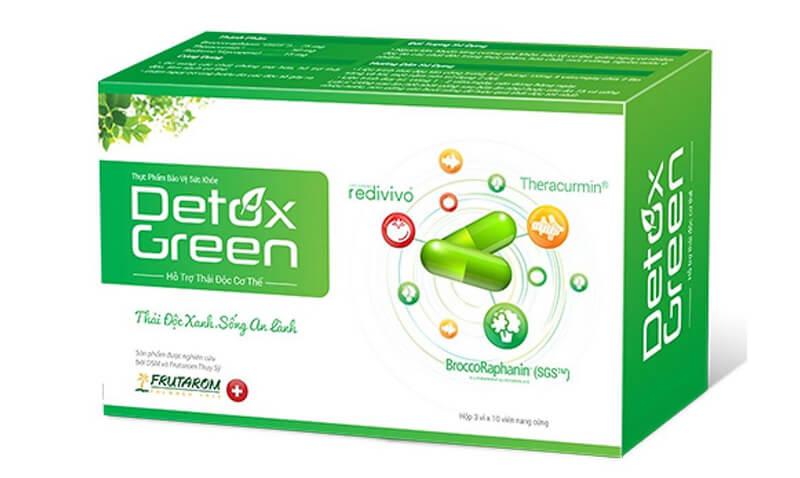 Detox Green – thải độc cho cơ thể