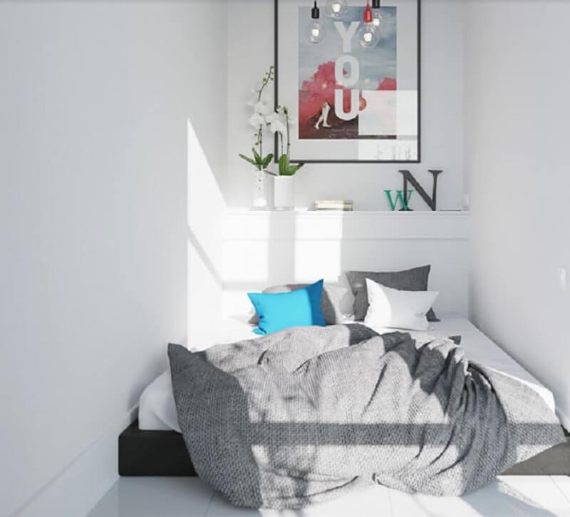 Ý tưởng thiết kế cho căn phòng nhỏ 3m2 đơn giản mà đẹp