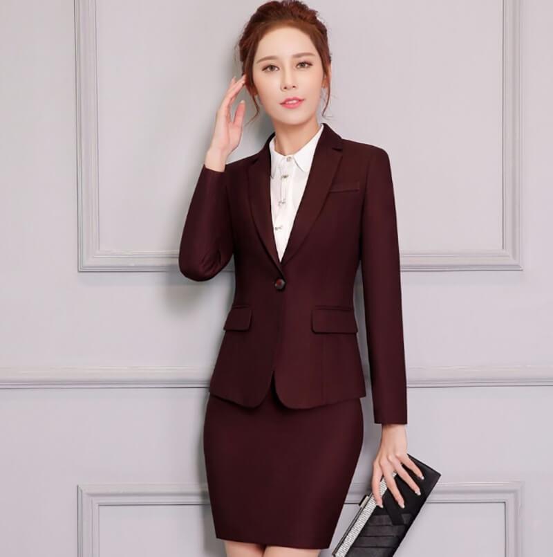 Mẫu áo vest công sở nữ sang trọng, lịch thiệp và đầy cuốn hút