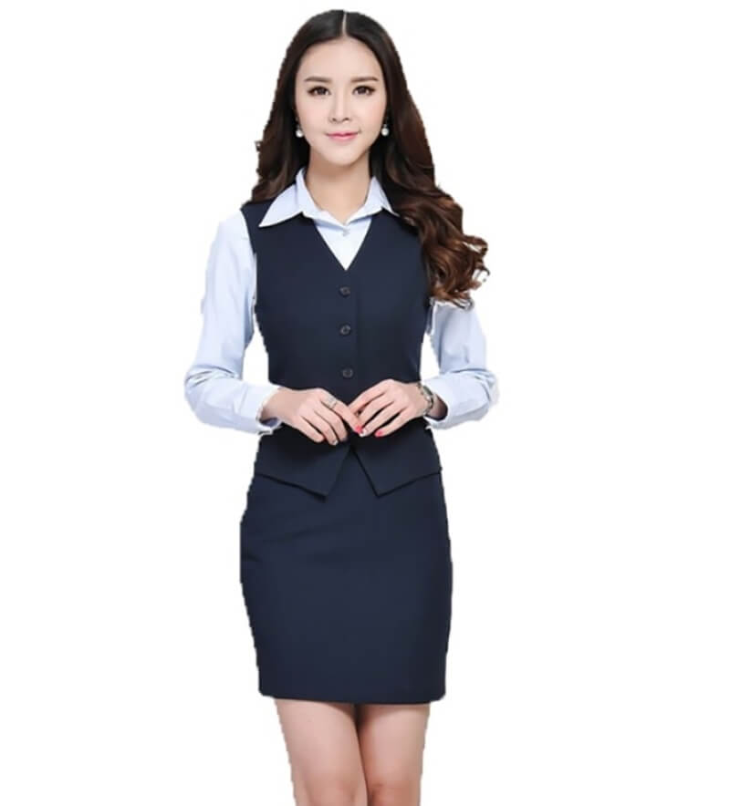 Đồng phục ghi lê nữ mang đến sự chuyên nghiệp, ấn tượng và sang trọng