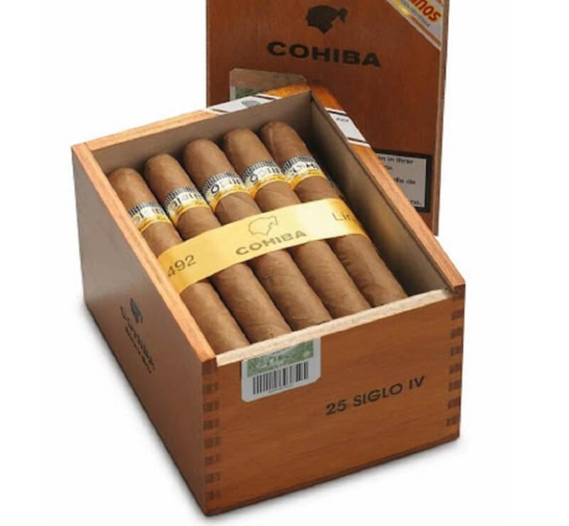 Cohiba Siglo IV lựa chọn của những ai sành xì gà