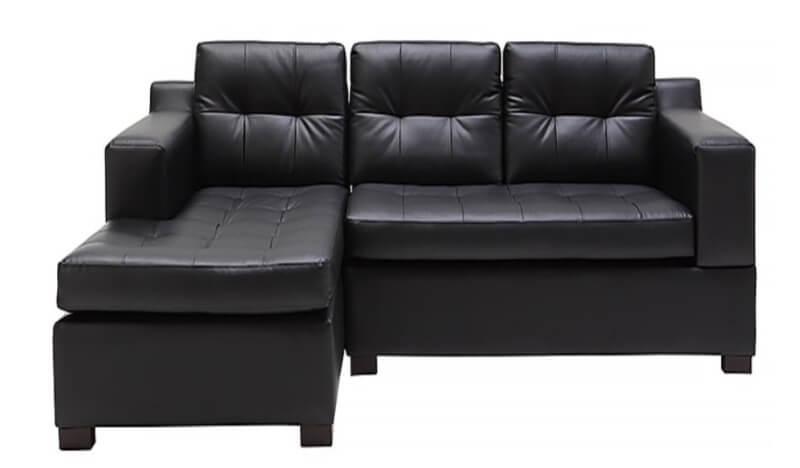 Sofa da chữ L Juno Ellen được thiết kế với kiểu dáng chữ L tinh tế, sang trọng.