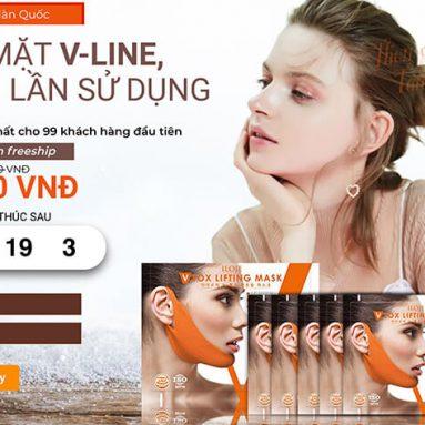 Mặt nạ Vline Konad tan nọng cằm mua ở đâu?