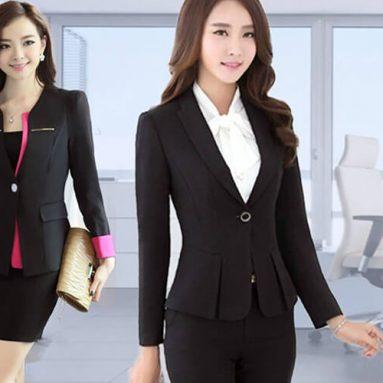 """Các mẫu đồng phục công sở nữ """"hot"""" nhất năm 2020 tại Dony"""