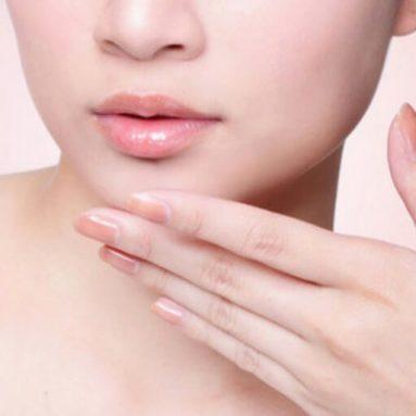 Phun môi collagen màu hồng cam đẹp ngất ngây