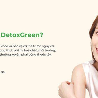 Thải độc Detox Green có công dụng gì, mua ở đâu?