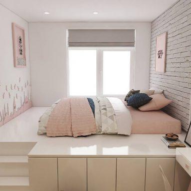 Thiết kế phòng ngủ nhỏ đẹp dành cho phòng 3m2, 5m2, 10m2